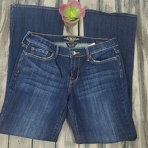 Lucky brand sweet n low bootcut Jean's